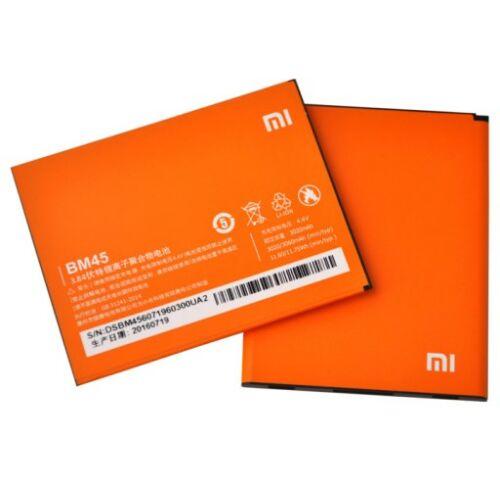 Gyári típusú akkumulátor Xiaomi Redmi Note 2 típusú készülékhez, 3020 mAh (BM45)