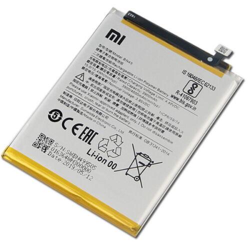 Gyári típusú akkumulátor Xiaomi Redmi 7A típusú készülékhez, 3900 mAh (BN49)