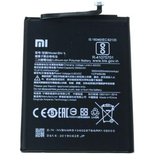 Gyári típusú akkumulátor Xiaomi Redmi Note 7 típusú készülékhez, 3900 mAh (BN4A)