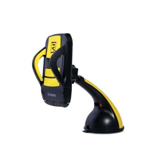 Remax állítható autós tartó, szilikonos tapadóval (RM-C04), fekete-sárga