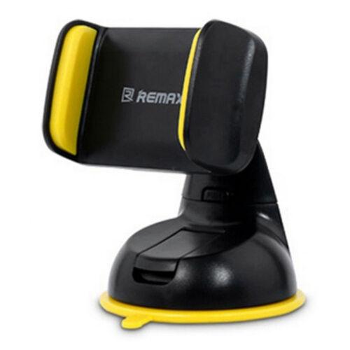 Remax állítható autós tartó, szilikonos tapadóval (RM-C06), fekete-sárga