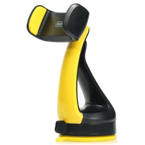 Remax állítható autós tartó, szilikonos tapadóval (RM-C15), fekete-sárga