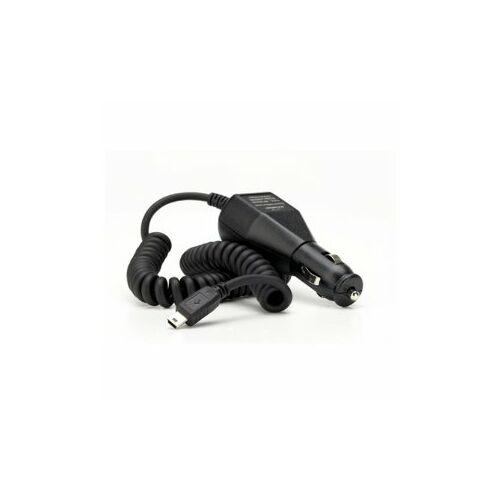 Szivargyújtós töltő 1A (mini USB), fekete