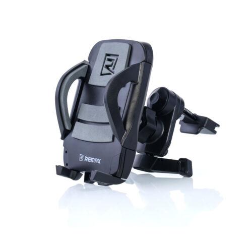 Remax állítható autós tartó, szellőző rácsba (RM-C03), fekete-szürke