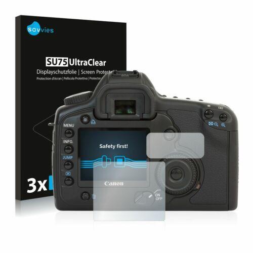 6db-os Savvies SU75 kijelzőfólia, Canon EOS 5D típusú fényképezőhöz