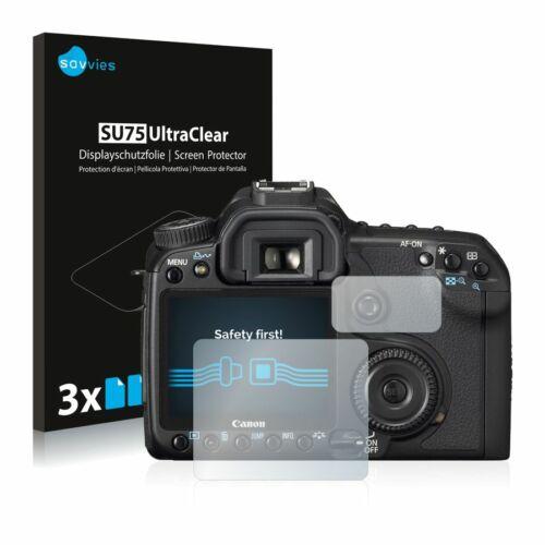 6db-os Savvies SU75 kijelzőfólia, Canon EOS 40D típusú fényképezőhöz