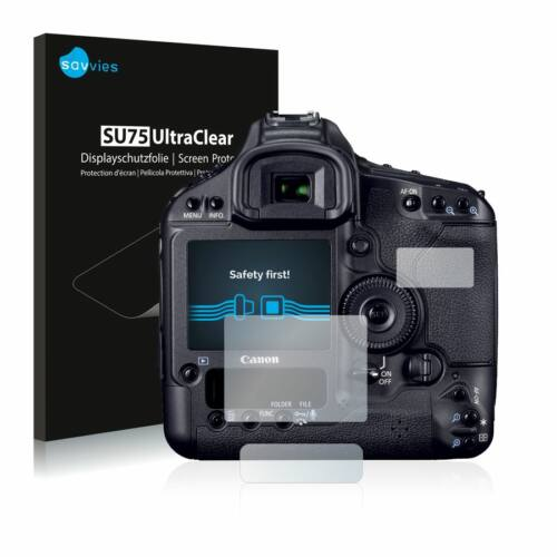 6db-os Savvies SU75 kijelzőfólia, Canon EOS 1D Mark IV típusú fényképezőhöz