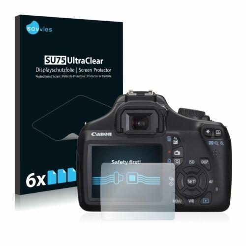 6db-os Savvies SU75 kijelzőfólia, Canon EOS 1100D típusú fényképezőhöz
