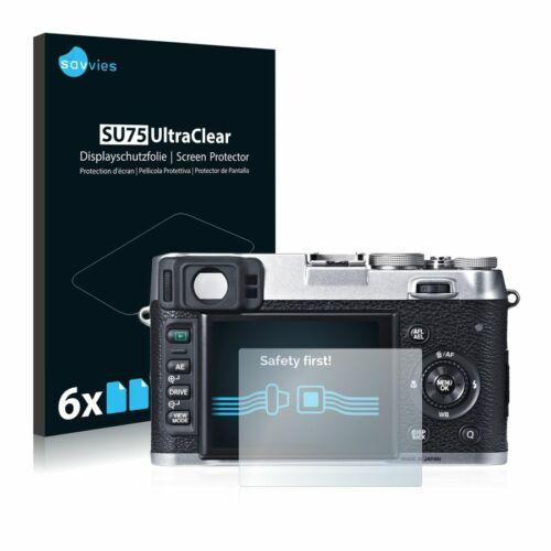 6db-os Savvies SU75 kijelzőfólia, FujiFilm X100S típusú fényképezőhöz