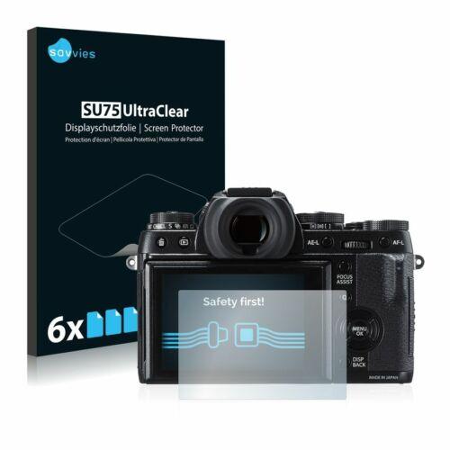 6db-os Savvies SU75 kijelzőfólia, FujiFilm X-T1 típusú fényképezőhöz