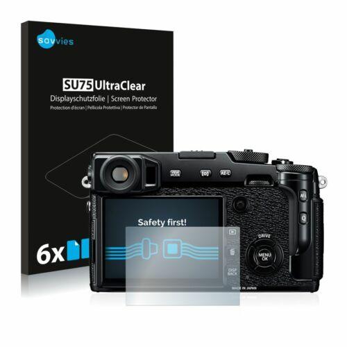 6db-os Savvies SU75 kijelzőfólia, FujiFilm X-Pro2 típusú fényképezőhöz
