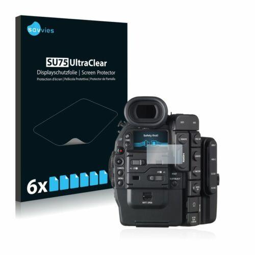 6db-os Savvies SU75 kijelzőfólia, Canon Cinema EOS C500 típusú fényképezőhöz