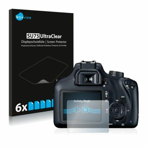 6db-os Savvies SU75 kijelzőfólia, Canon EOS 4000D típusú fényképezőhöz