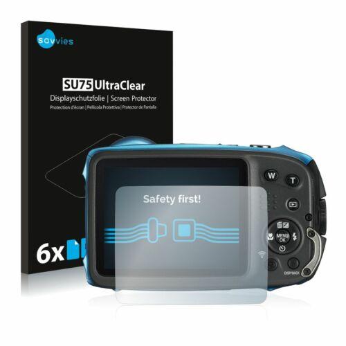 6db-os Savvies SU75 kijelzőfólia, FujiFilm FinePix XP130 típusú fényképezőhöz