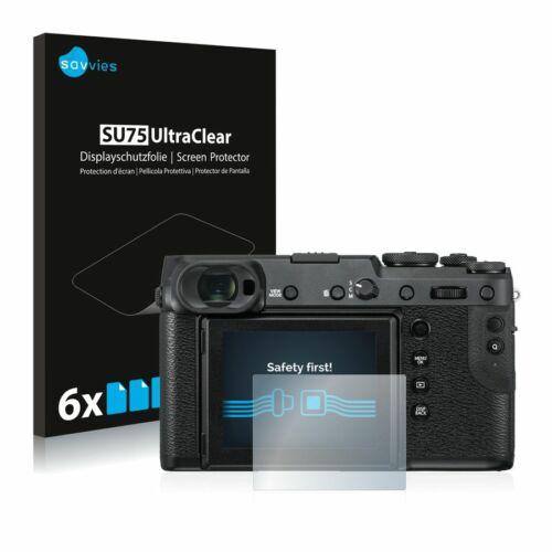 6db-os Savvies SU75 kijelzőfólia, FujiFilm GFX 50R típusú fényképezőhöz