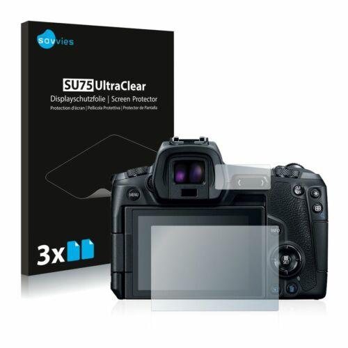 6db-os Savvies SU75 kijelzőfólia, Canon EOS R típusú fényképezőhöz