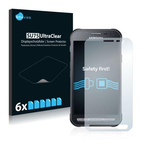 6db-os Savvies SU75 kijelzőfólia, Samsung Galaxy Xcover 3 típusú telefonhoz