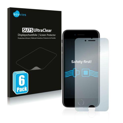6db-os Savvies SU75 kijelzőfólia, Apple iPhone SE 2 2020 típusú telefonhoz