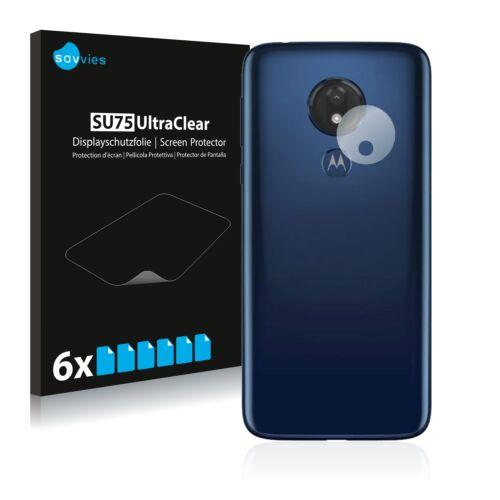 6db-os Savvies SU75 kameravédő fólia, Motorola Moto G7 Power típusú telefonhoz