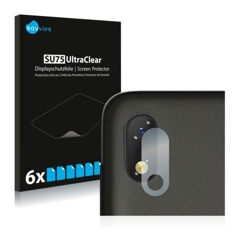 6db-os Savvies SU75 kameravédő fólia, ZTE Blade A530 típusú telefonhoz
