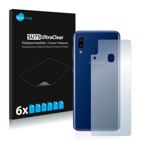 6db-os Savvies SU75 hátlapvédő fólia, Samsung Galaxy A20e típusú telefonhoz