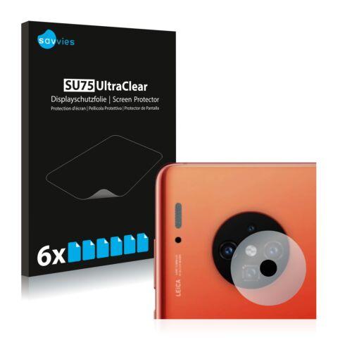 6db-os Savvies SU75 kameravédő fólia, Huawei  Mate 30 Pro típusú telefonhoz