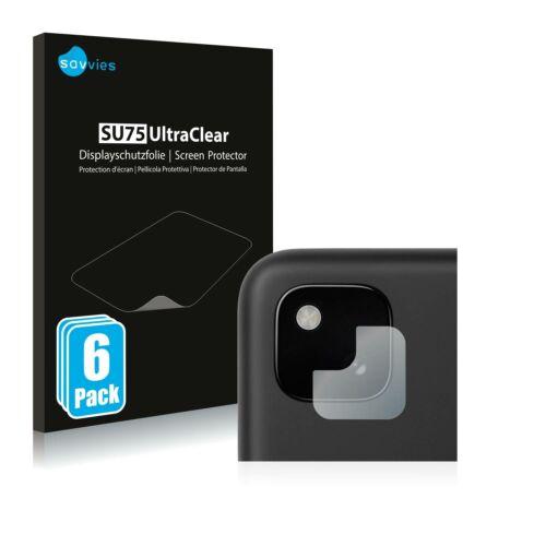 6db-os Savvies SU75 kameravédő fólia, Google Pixel 4a típusú telefonhoz