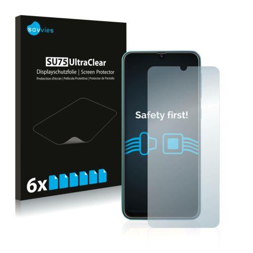 6db-os Savvies SU75 kijelzőfólia, Samsung Galaxy M31 típusú telefonhoz