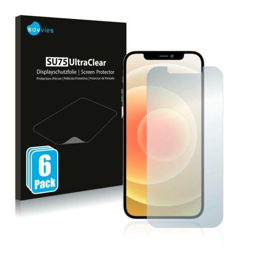 6db-os Savvies SU75 kijelzőfólia, Apple iPhone 12 Pro Max típusú telefonhoz