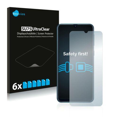 6db-os Savvies SU75 kijelzőfólia, Samsung Galaxy M21 típusú telefonhoz