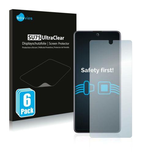 6db-os Savvies SU75 kijelzőfólia, Samsung Galaxy A71 5G típusú telefonhoz