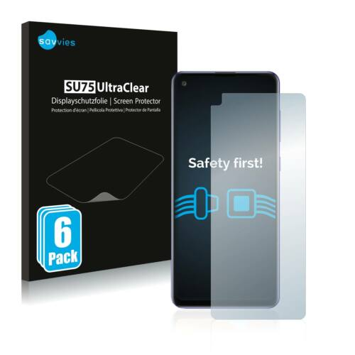 6db-os Savvies SU75 kijelzőfólia, Samsung Galaxy A21s típusú telefonhoz
