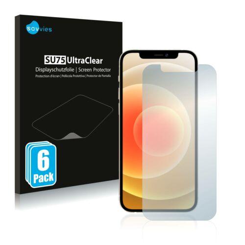 6db-os Savvies SU75 kijelzőfólia, Apple iPhone 12 Pro típusú telefonhoz