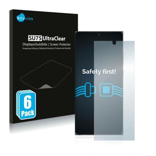 6db-os Savvies SU75 kijelzőfólia, Samsung Galaxy Note 20 Ultra 5G típusú telefonhoz