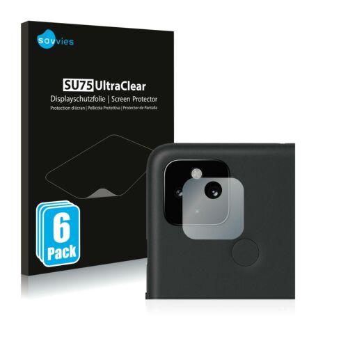 6db-os Savvies SU75 kameravédő fólia, Google Pixel 4a 5G típusú telefonhoz
