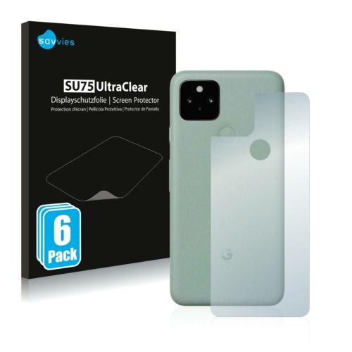 6db-os Savvies SU75 hátlapvédő fólia, Google Pixel 5 típusú telefonhoz