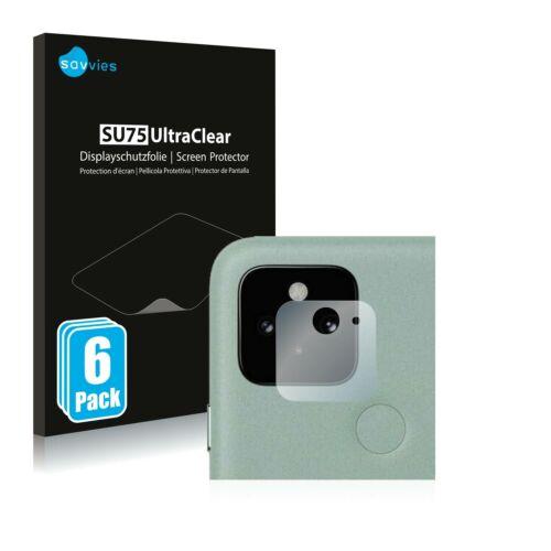 6db-os Savvies SU75 kameravédő fólia, Google Pixel 5 típusú telefonhoz