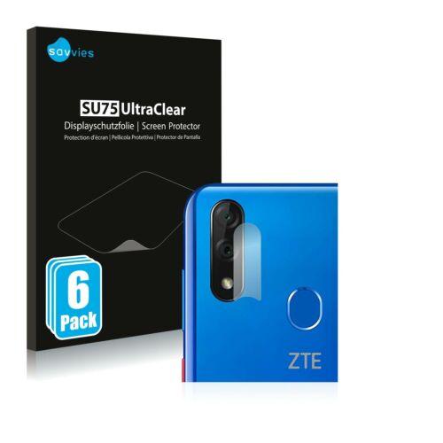 6db-os Savvies SU75 kameravédő fólia, ZTE Blade 10 típusú telefonhoz