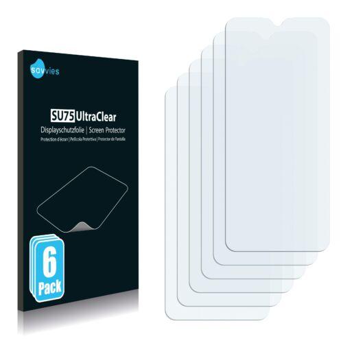 6db-os Savvies SU75 kijelzőfólia, Samsung Galaxy A02s típusú telefonhoz