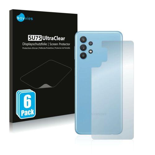 6db-os Savvies SU75 hátlapvédő fólia, Samsung Galaxy A32 5G típusú telefonhoz