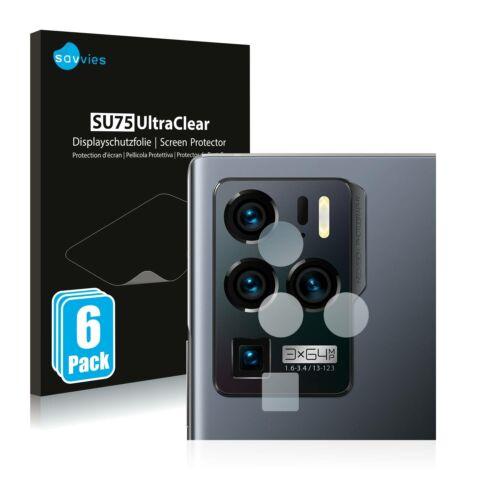 6db-os Savvies SU75 kameravédő fólia, ZTE Axon 30 Ultra 5G típusú telefonhoz