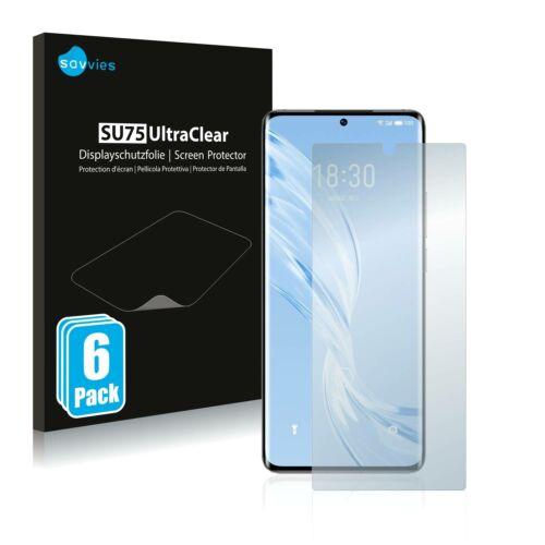 6db-os Savvies SU75 kijelzőfólia, Meizu 18 Pro típusú telefonhoz