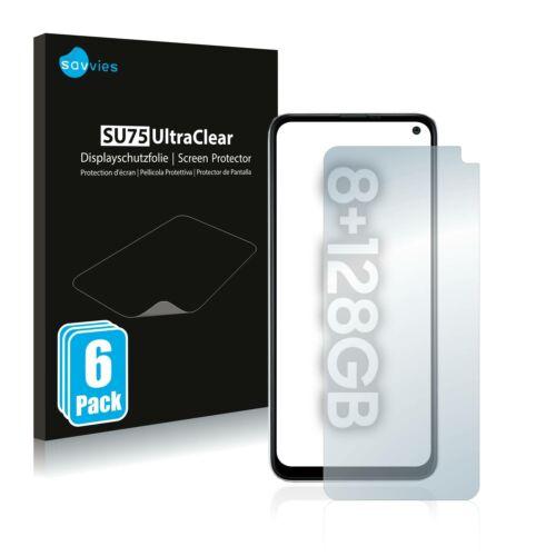 6db-os Savvies SU75 kijelzőfólia, Samsung Galaxy  F52 5G típusú telefonhoz