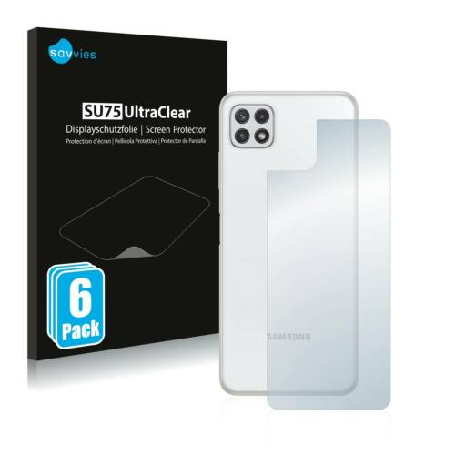 6db-os Savvies SU75 hátlapvédő fólia, Samsung Galaxy A22 5G típusú telefonhoz