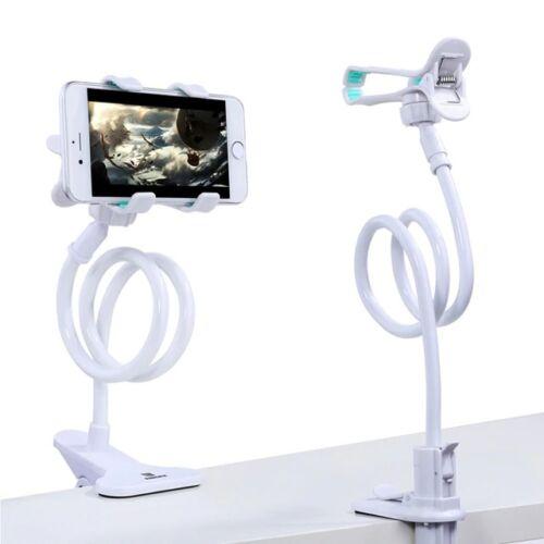 Remax flexibilis, 360 fokban forgatható telefon tartó állvány (RM-C22), fehér