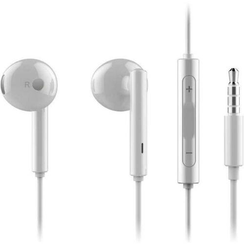 Huawei gyári típusú vezetékes sztereó headset AM115 (3,5mm jack), fehér