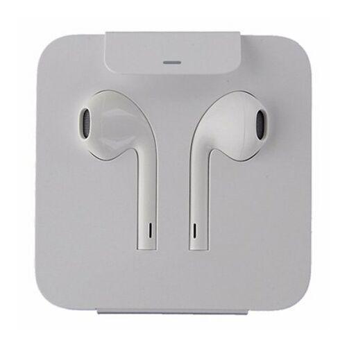 Apple Iphone 7, 8, X, 11 EarPods eredeti, gyári vezetékes sztereó headset, MMTN2FE/A (lightning), fehér