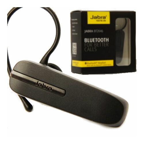 Jabra BT-2046 bluetooth headset, (multipoint), fekete