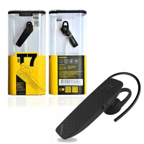 Remax RB-T7 bluetooth headset, (multipoint), fekete