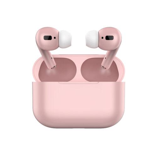 TWS i20 Air Pro, sztereó bluetooth 5.0 headset, power bank, lightning töltőcsatlakozóval (EDR), pink